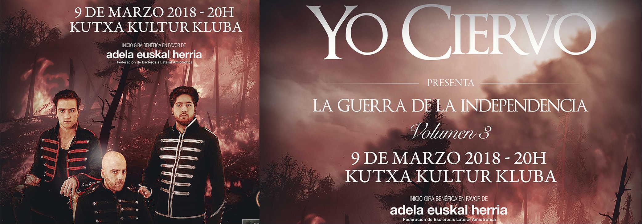 'YO CIERVO' y su gira en pro de los enfermos/as de ELA