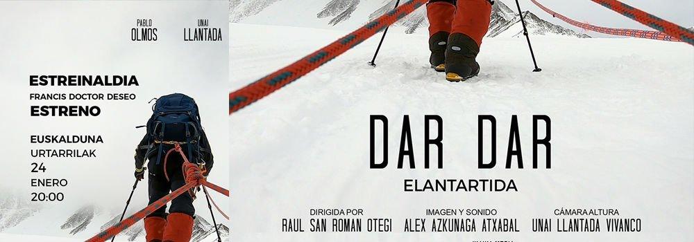 """Estreno del documental """"Dar Dar Elantartida"""" en el Euskalduna"""